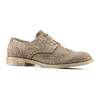 Derby in suede da uomo bata, marrone, 823-3306 - 13