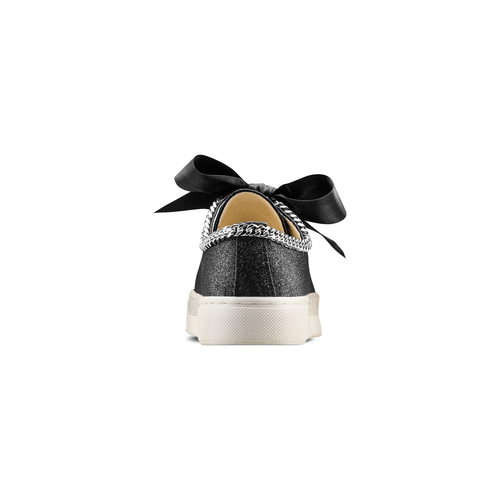 Sneakers senza lacci da bambina mini-b, nero, 321-6307 - 15