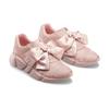 Sneakers rosa con lacci in satin bata, rosa, 549-5202 - 16