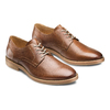 Derby in pelle da uomo bata, marrone, 824-3350 - 16