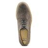 Derby in pelle scamosciata bata-light, grigio, 823-2284 - 17