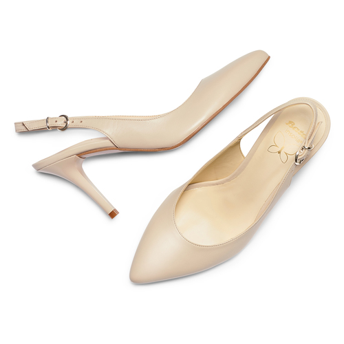 Sling back Insolia insolia, beige, 724-8196 - 26