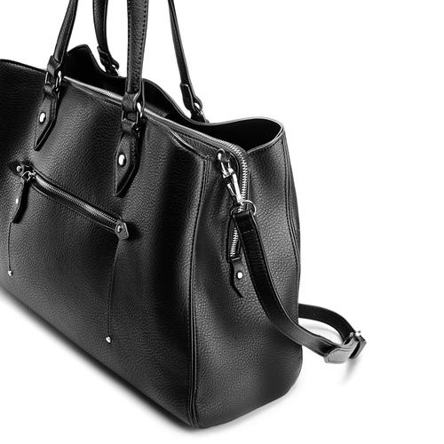 Shopper da donna bata, nero, 961-6209 - 15