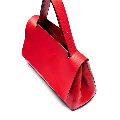 Borsa a spalla bata, rosso, 961-5303 - 17