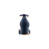 Décolleté con cinturino insolia, blu, 729-9208 - 15
