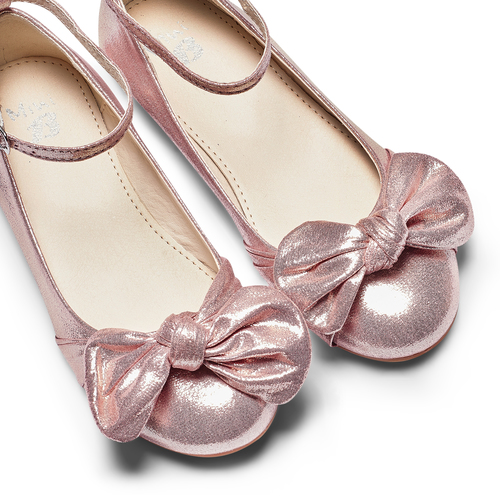 Ballerine con fiocco mini-b, rosa, 329-5227 - 26