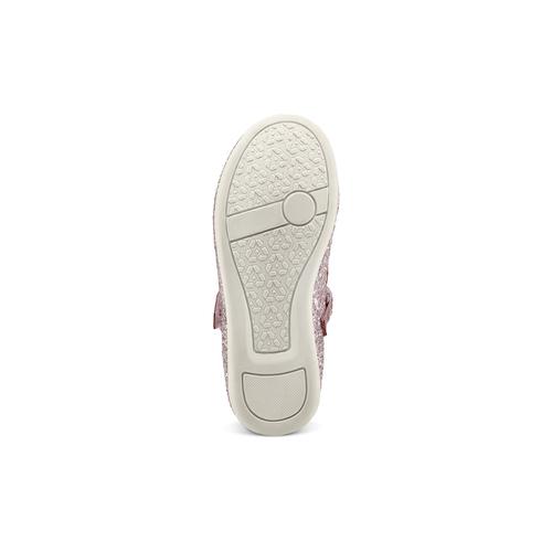 Ballerine con glitter da bambina mini-b, rosa, 229-5103 - 19