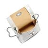 Minibag in vera pelle bata, bianco, 964-1249 - 16