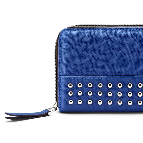 Portafoglio con applicazioni bata, blu, 941-9170 - 15