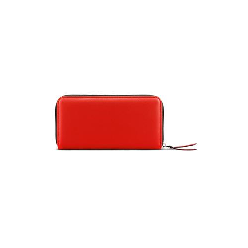 Portafoglio in similpelle bata, rosso, 941-5170 - 26