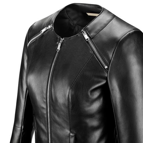 Giacca corta da donna bata, nero, 971-6212 - 15