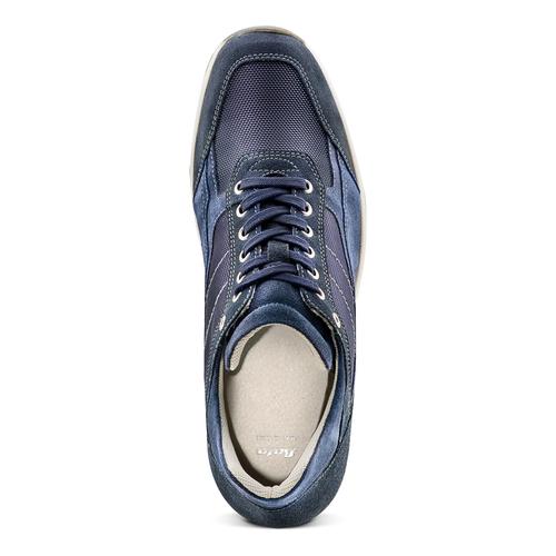 Sneakers casual da uomo bata, blu, 849-9162 - 17