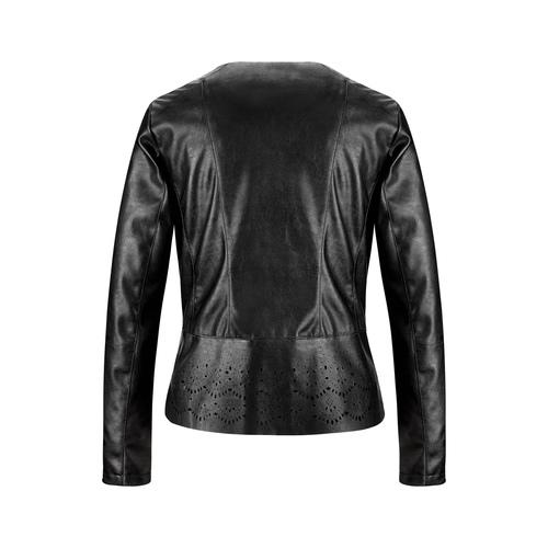 Giacca asimmetrica da donna bata, nero, 971-6185 - 26