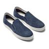 Slip on da uomo in suede bata, blu, 833-0134 - 16