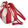 Borsa a secchiello bata, rosso, 961-5390 - 15