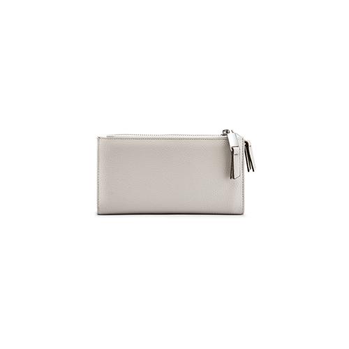 Portafoglio ampio da donna bata, grigio, 941-2168 - 26
