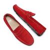 Mocassini in pelle bata, rosso, 853-5180 - 26
