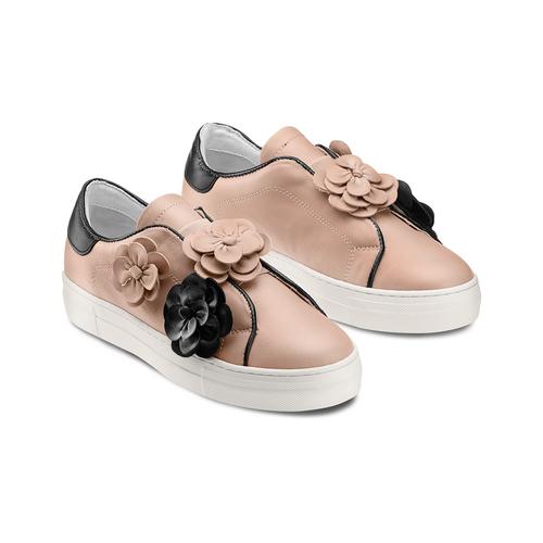 Slip on da donna bata, rosa, 544-5374 - 16