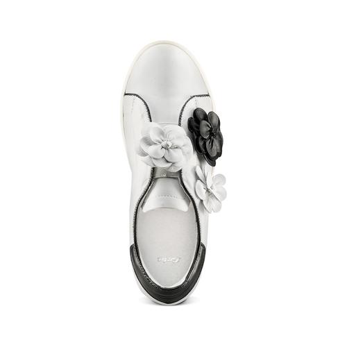 Sneakers senza lacci bata, bianco, 544-1374 - 17