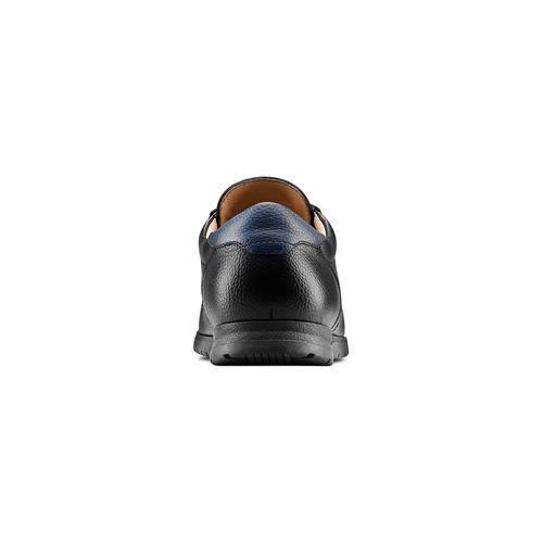 Stringate casual bata-comfit, nero, 854-6115 - 15