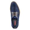 Derby da uomo bata-rl, blu, 829-9427 - 17
