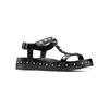 Sandali con perle bata, nero, 561-6369 - 13