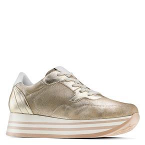 Sneakers Platform bata, oro, 644-8102 - 13