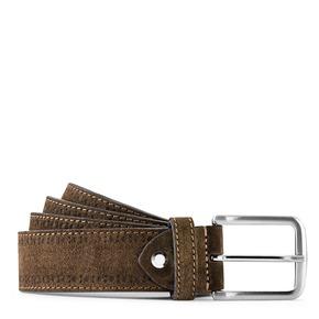 Cintura in suede bata, marrone, 953-4113 - 13
