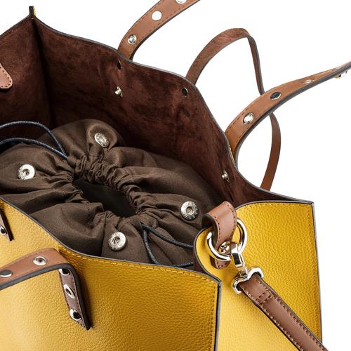 Shopper da donna bata, giallo, 961-8296 - 15
