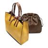Shopper da donna bata, giallo, 961-8296 - 17