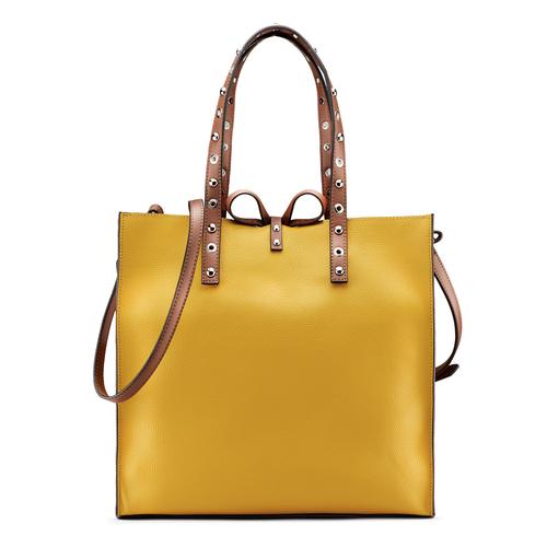 Shopper da donna bata, giallo, 961-8296 - 26