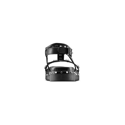 Sandali da bambina mini-b, nero, 361-6237 - 15
