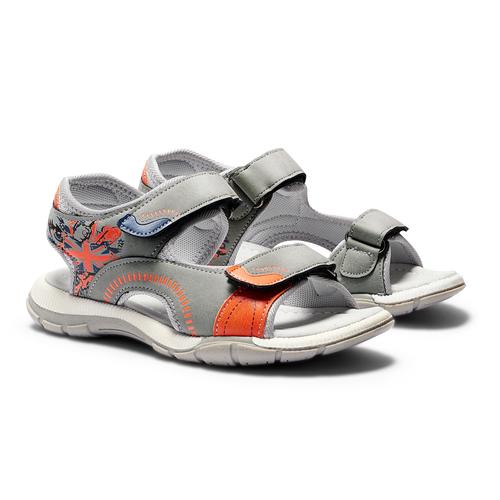 Sandali da bimbo mini-b, grigio, 361-2239 - 26