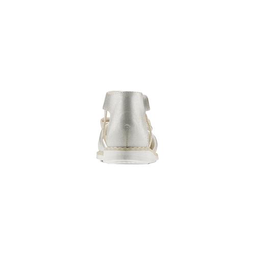 Sandali da bambina mini-b, argento, 261-1117 - 15