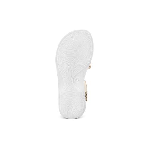 Sandali da bambina mini-b, oro, 261-8117 - 19