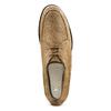 Stringate in pelle bata, marrone, beige, 853-2160 - 17