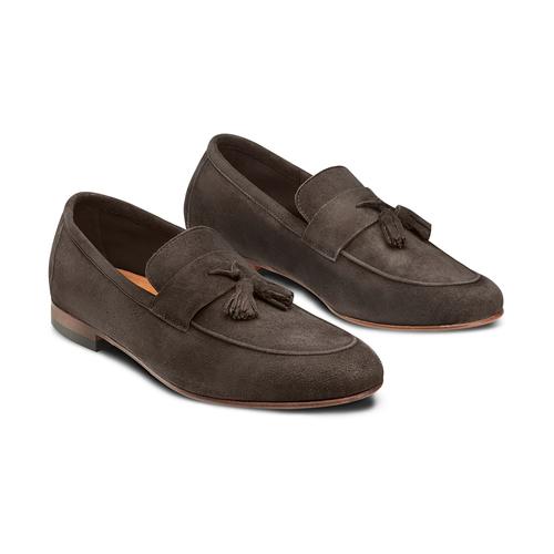 Mocassini con nappa bata-the-shoemaker, marrone, 853-4140 - 16