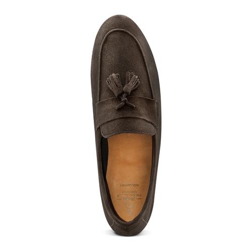 Mocassini con nappa bata-the-shoemaker, marrone, 853-4140 - 17