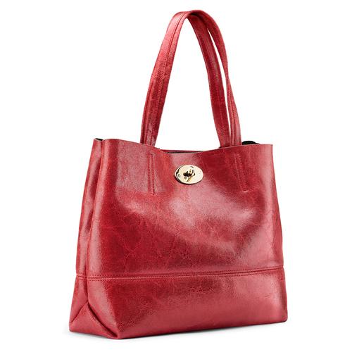 Borsa a spalla bata, rosso, 964-5357 - 13
