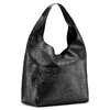 Hobo bag con trafori bata, nero, 961-6270 - 13