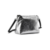 Hobo bag con trafori bata, nero, 961-6270 - 19