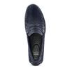 Mocassini in suede bata, blu, 853-9171 - 17