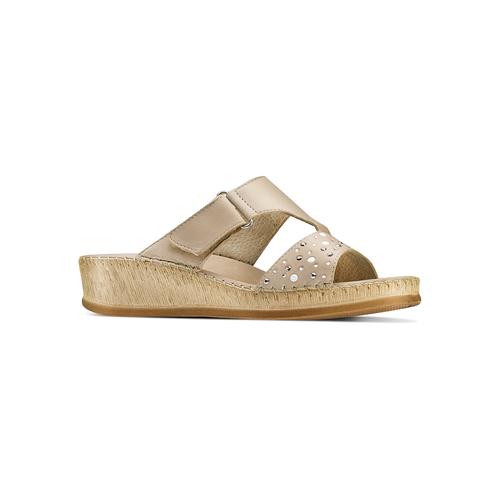 Ciabatte Comfit bata-comfit, beige, 574-3438 - 13
