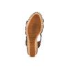 Sandali con borchie bata, marrone, 761-4235 - 19