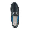 Scarpe da barca bata, blu, 856-9149 - 17