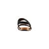 Sandali con strass bata, nero, 569-6256 - 15