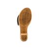 Ciabatte con tacco bata-touch-me, beige, 664-8303 - 19