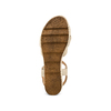 Sandali con fiocco bata, marrone, 763-3271 - 19