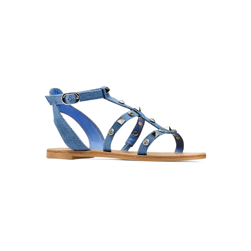 Sandali da bambina mini-b, blu, 369-9209 - 13