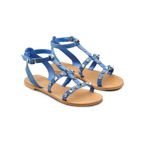 Sandali da bambina mini-b, blu, 369-9209 - 16